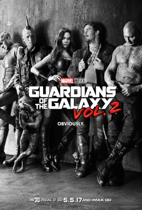 The Guardians are coming! One month until GotG Vol.2