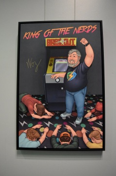 Steve Wozniak's Media Party Photo Source: TGON