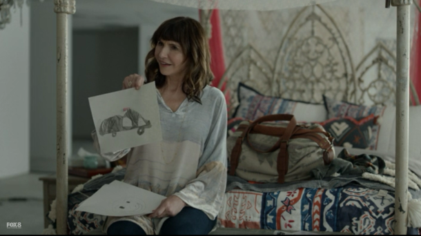 gail with jaspers drawing