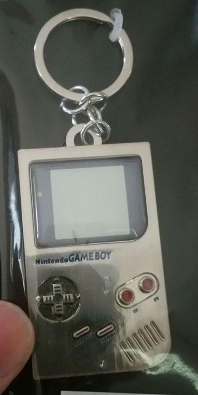 Gameboy Keychain