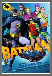 BATMAN 1966 MOVIE POSTER FRANCHI