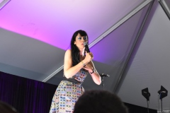 April Richardson was an amazing host for all the comedy events! Photo Source: Shannon Parola