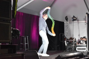 I'm still trying to figure out Brent Weinbach and his slinky dance. Photo Source: Shannon Parola