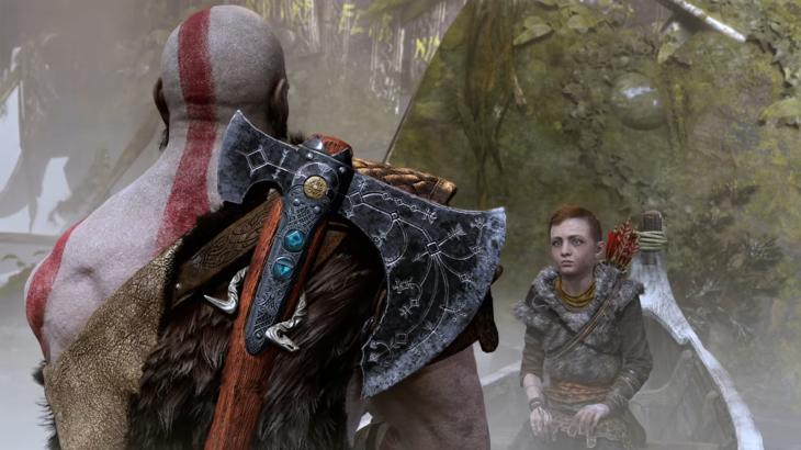 Kratos Axe and Boy