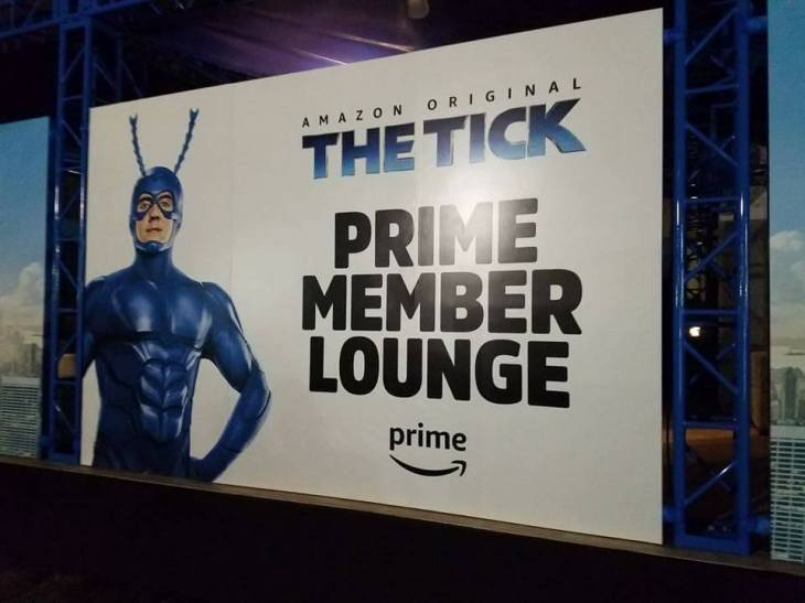 The Tick at SDCC- JohnPaul Castillo