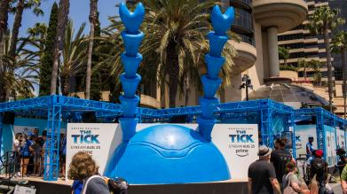 "Photos from ""The Tick"" experience at Comic-Con San Diego, July 20, 2017. CREDIT: Amazon Prime Video"