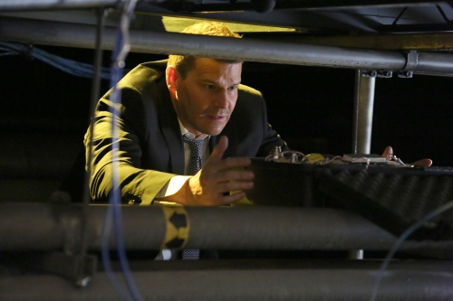 """Season 12 BONES: David Boreanaz in the """"The Final Chapter: The Day In the Life"""" episode of BONES airing Tuesday, March 21 (9:01-10:00 PM ET/PT) on FOX. ©2017 Fox Broadcasting Co."""