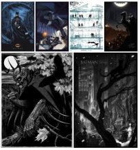 batman collage