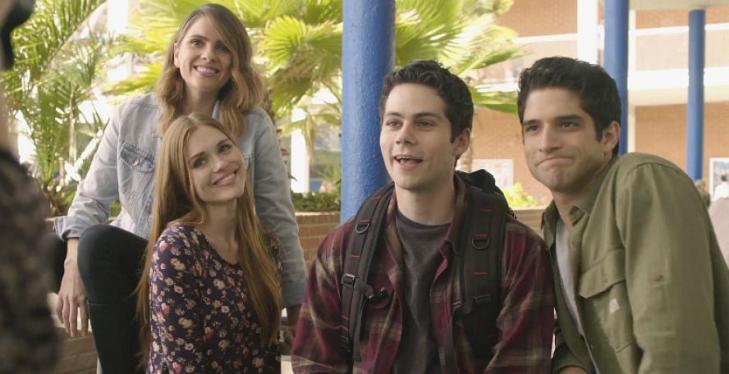 Teen Wolf Season 601 Lydia Malia Stiles Scott Photo via Hypable