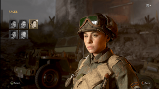 Base faces for Customization - Call Of Duty: WW2 Private Beta
