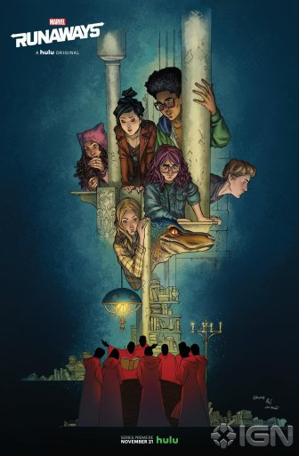 Marvel's Runaways - Artists Alfonso/Yeung