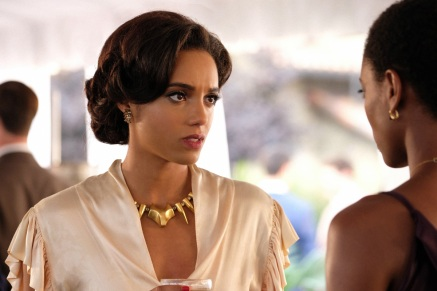 """DC's Legends of Tomorrow -- """"Helen Hunt"""" -- Image Number: LGN306a_0247b.jpg -- Pictured: Maisie Richardson- Sellers as Amaya Jiwe/Vixen -- Photo: Bettina Strauss/The CW -- © 2017 The CW Network, LLC. All Rights Reserved."""