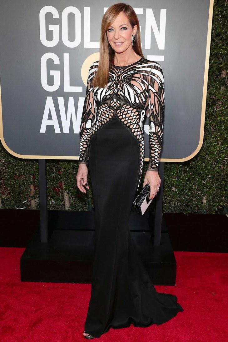 Best-Dressed-Golden-Globes-Allison-Janney