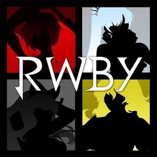Silhouette of the RWBY