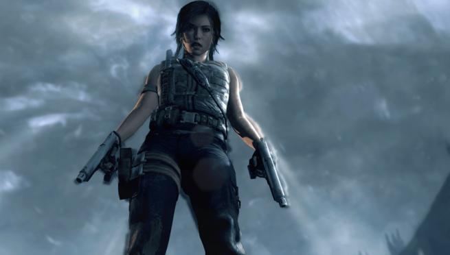 We get a look into how Lara gets those handguns - Tomb Raider (2013)