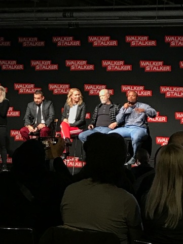 Left to Right: Dave Solo, Laurie Holden, Scott Wilson, IronE