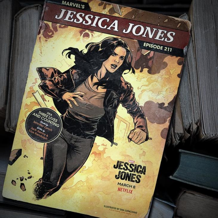 Jessica Jones 211 Poster